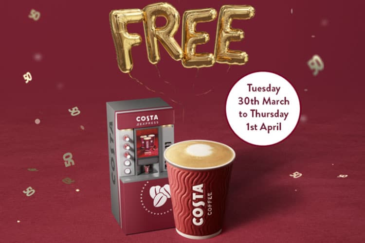 Imperial Retail Park - Costa Free Coffee