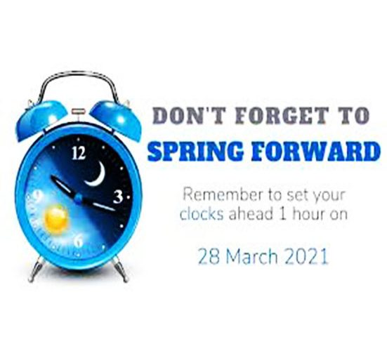 Get ready to Spring Forward!
